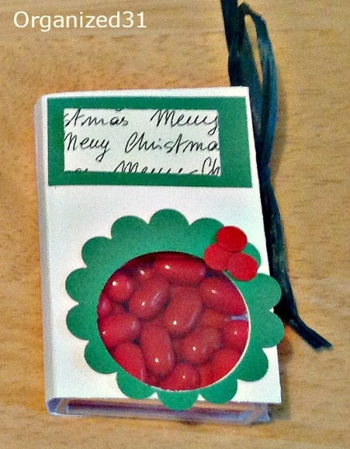 Christmas Tic Tacs Craft Gift - Organized 31