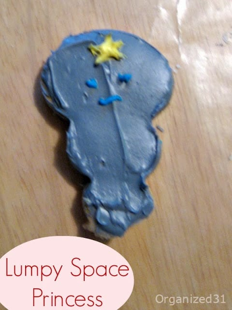 #AdventureTime Lumpy Space Princess frosted and decorated cookies - Organzied 31