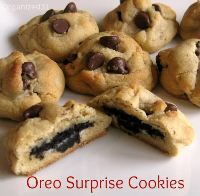 Organized31 - Oreo Surprise Chocolate Chip Cookies