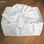 Frugal Upcycled Fabric Gift Bags 2