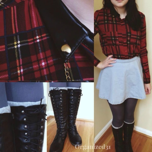 Fashion 31 - Winter Plaids - Organized31