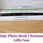 Make Photo Book Christmas Gifts Now