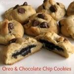 Oreo Surprise Chocolate Chip Cookies