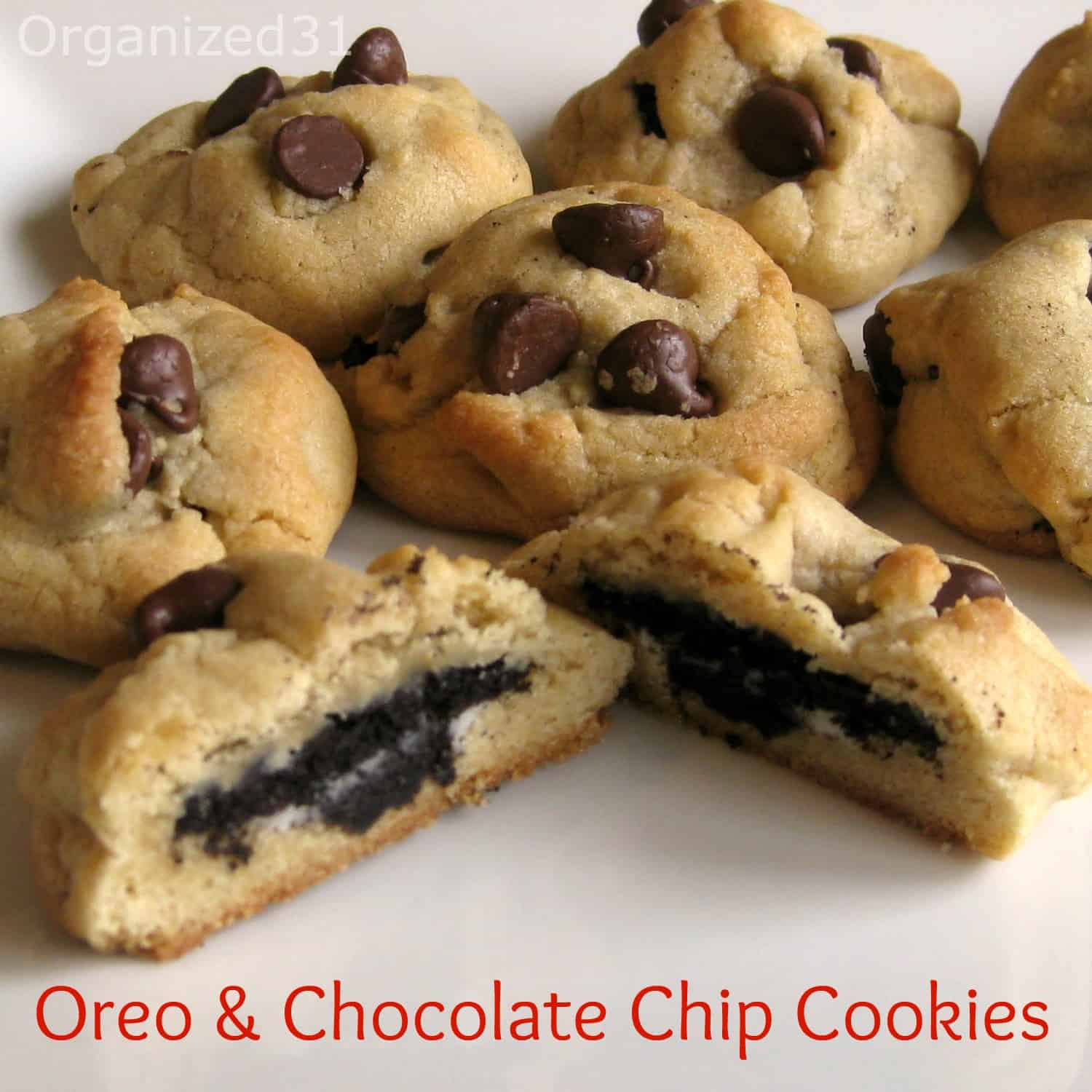 Chocolate Chip Oreo Cookies Recipe — Dishmaps