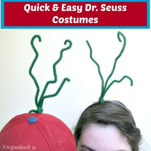 Quick and Easy Dr. Seuss Costume