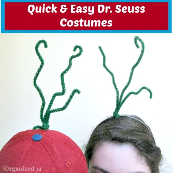 Dr Seuss Day Costumes That Are Easy To Make At The Last Minute