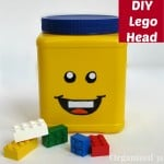 DIY Repurposed Can Lego Head