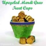 Eaasy Mardi Gras Treat Cups - Organized 31