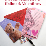 Doodling Memories for Friends & Hallmark Valentine's Day Cards