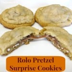 Rolo Pretzel Surprise Cookies - Organized 31