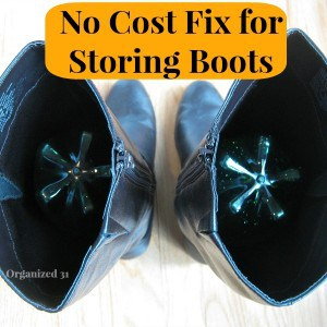 No Cost Fix for Storing Boots - Organized 31