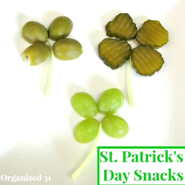 Quick Easy St. Patrick's Day Snacks
