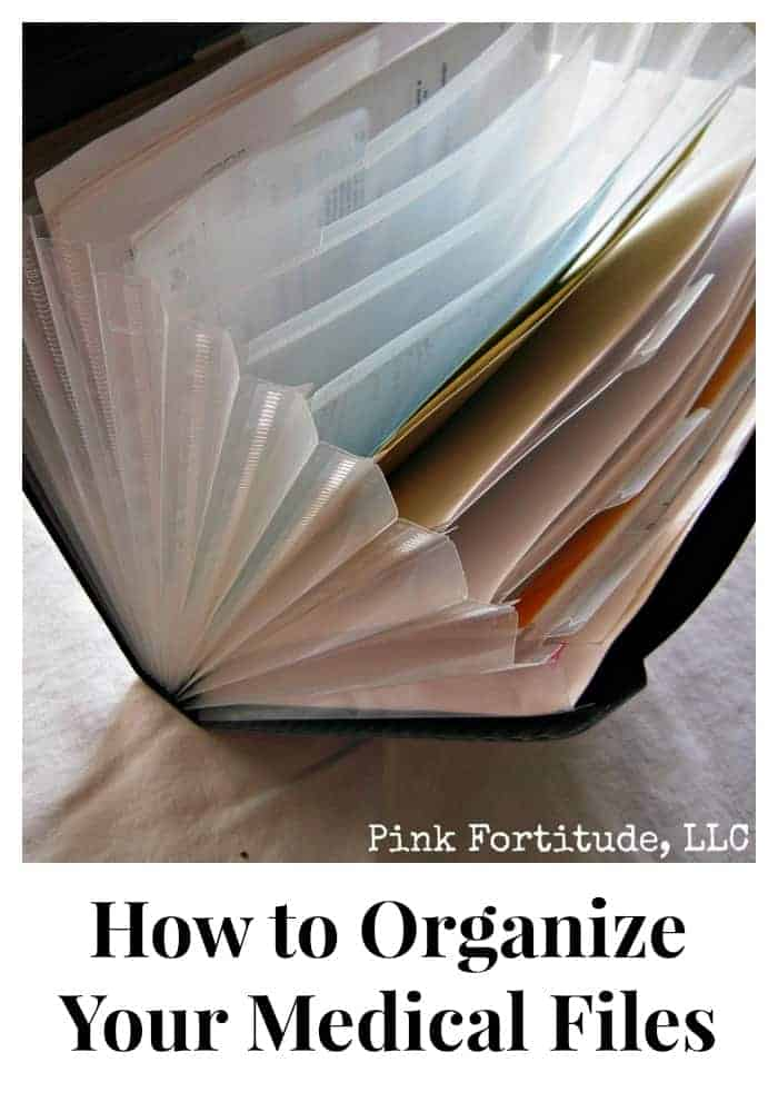 How to Organize Medical Files - Organized 31