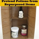 Pretend Magic Potions with Repurposed Items & Crayola