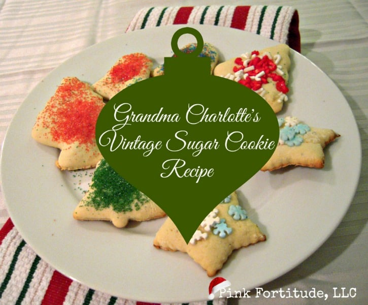 Old Fashioned Sugar Cookies - The Coconut Head