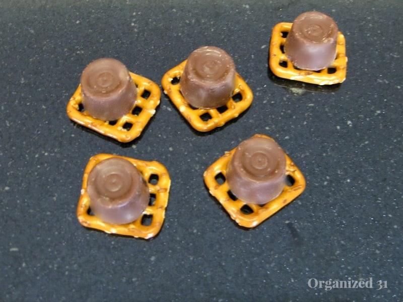 Rolo Pretzel Surprise Cookies - Organized 31
