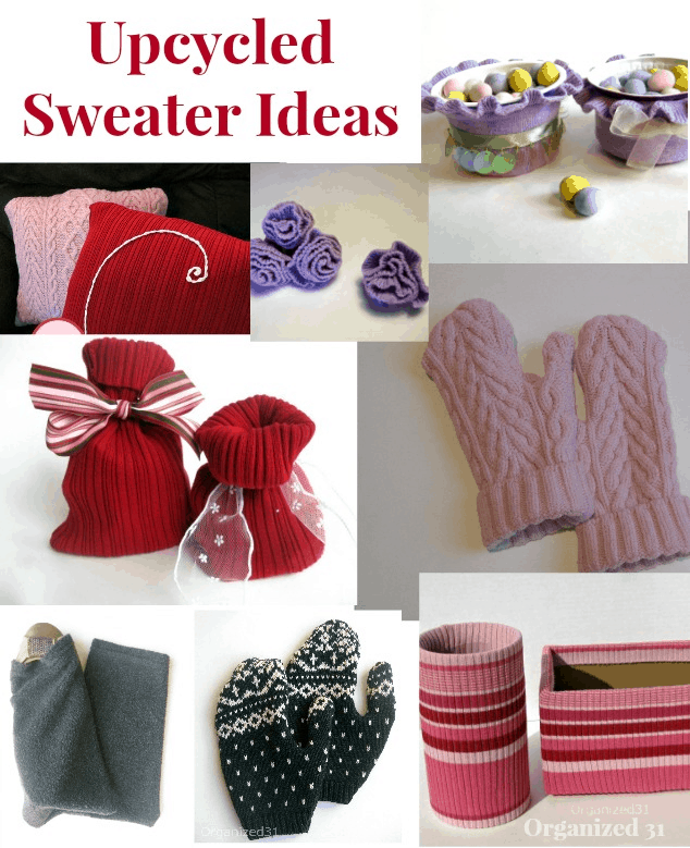 http://organized31.com/2013/03/upcycled-sweater-flowers.html