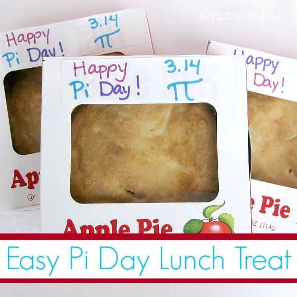 Easy Pi Day Treat - Organized 31