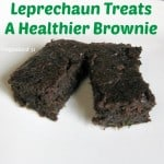 Leprechaun Treats a Healthier Brownie from a Box Mix - Organized 31