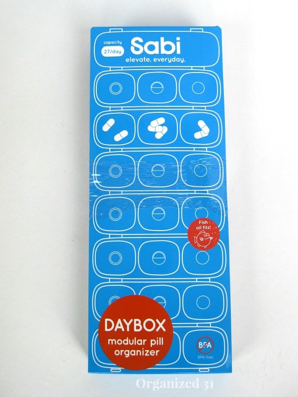 Sabi Daybox Pill Organizer #shop