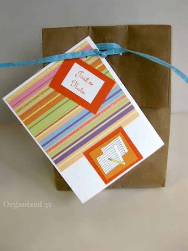 Teacher Appreciation Gift - Organized 31