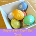 Easy Dyed Easter Egg Design