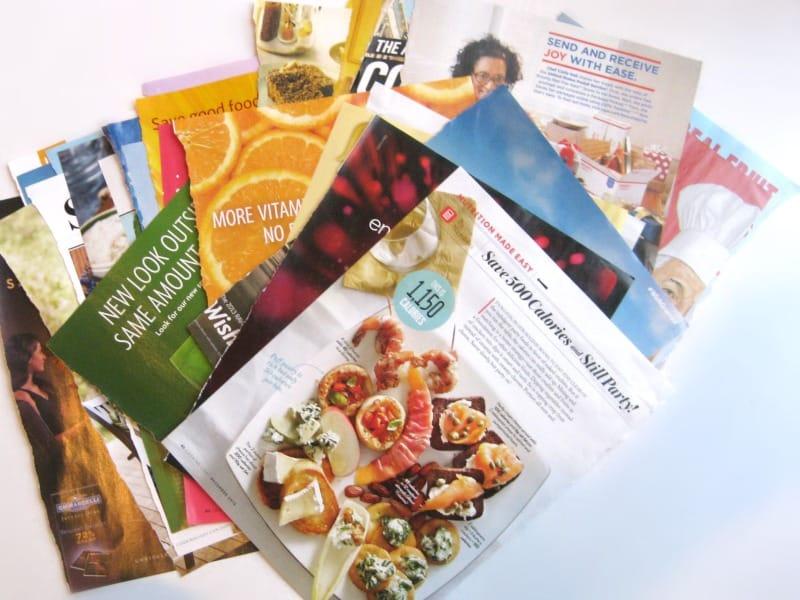 Easy Magazine Flowers - Organized 31