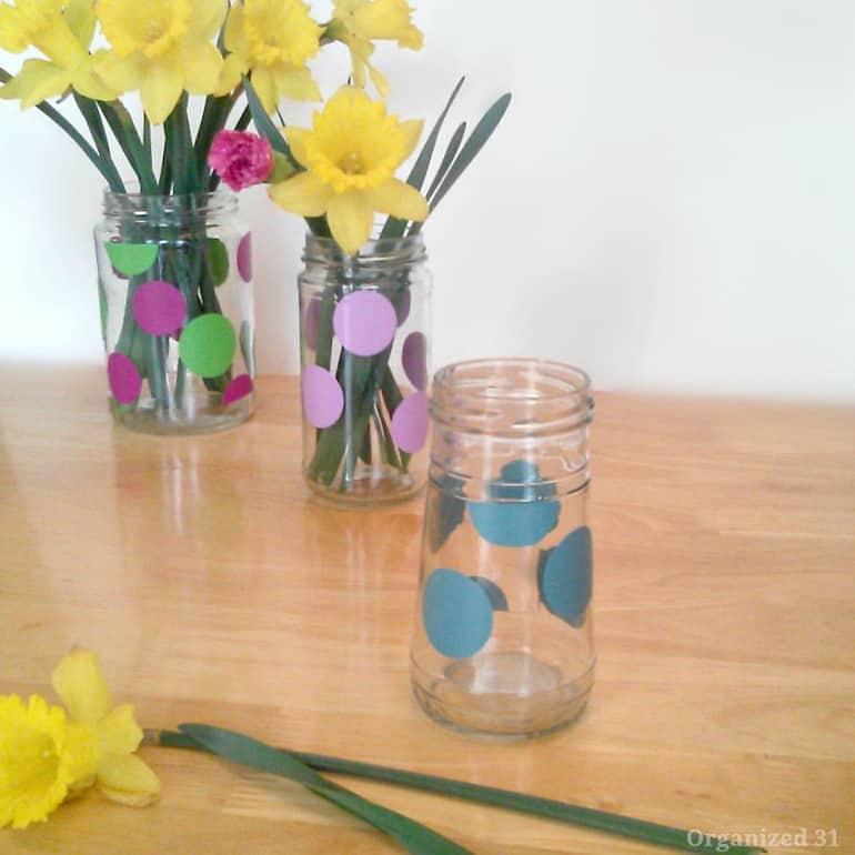 Repurposed Jar Vase - Organized 31