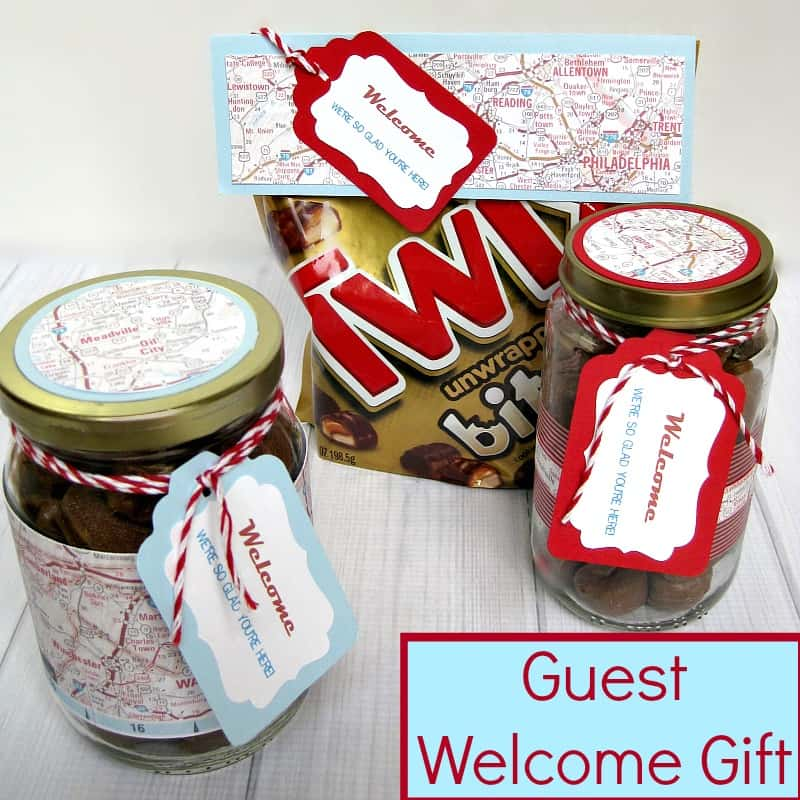 Guest Welcome Gift with Twix Bites - Organized 31 #EatMoreBites #shop