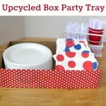 Upcycled Box Party Serving Tray