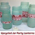 Upcycled Jar Party Lanterns