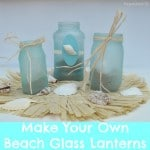 Hawaiian Beach Glass Party Lanterns