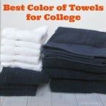 Best Color of Towels for College