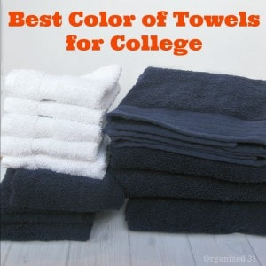 Best Color of Towels for College - Organized 31