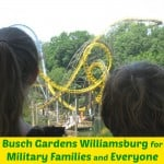 Busch Gardens Williamsburg for Military Families & Everyone - Organized 31 #sponsored