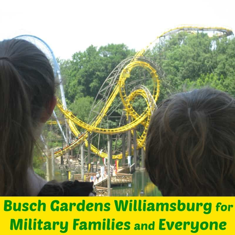 Busch Gardens Williamsburg for Military Families & Everyone - Organized 31 #sponsored