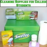 Cleaning Supplies for College Students - Organized 31 #SwifferEffect #BigGreenBox #sponsored