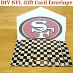 DIY Football Fan Gift Envelope