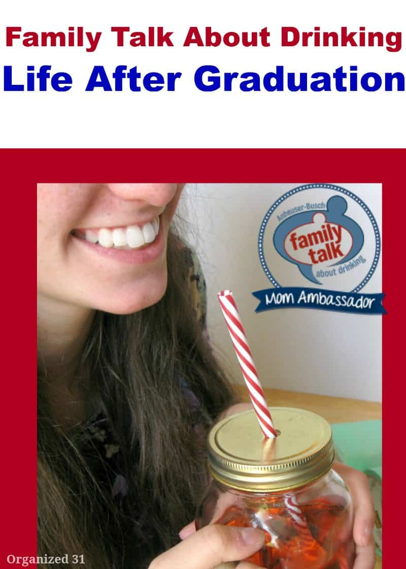 Family Talk About Drinking Life After Graduation - Organized 31 #FamilyTalk #MC #sponsored