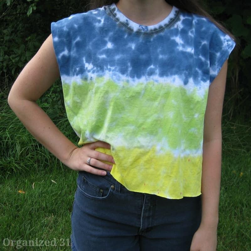 Teen & Tween Tie Dye Fashion - Organized 31 #tiedyeyoursummer # sponsored