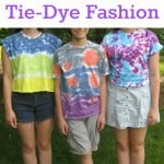 Teen & Tween Tie Dye Fashion - Organized 31 #tiedyeyoursummer # sponsored