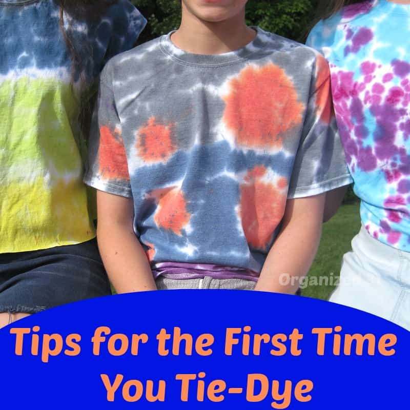 Tie-Dye Tips - Organized 31