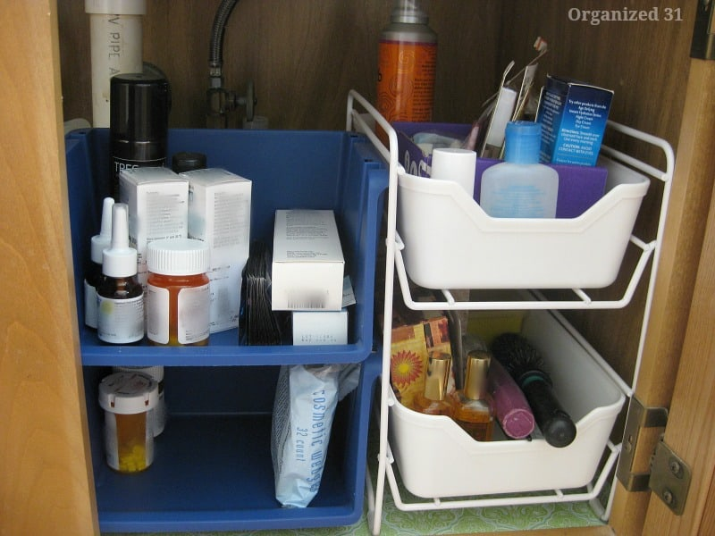 Master Bath Tour & Organizing - Organized 31
