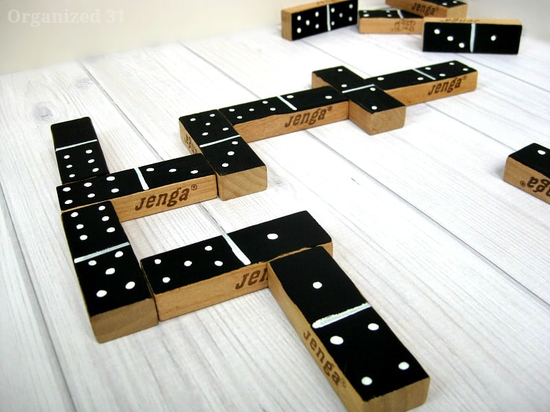 DIY Dominoes - Organized 31