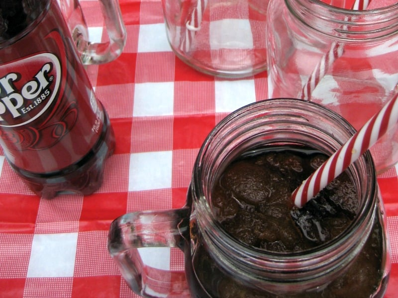 DIY Dr Pepper Slushie & Popsicle - Organized 31 #BackyardBash #shop