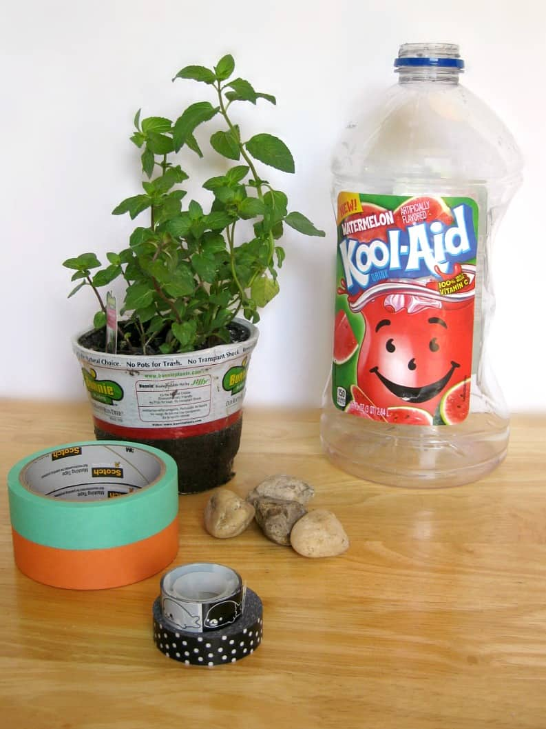 Super Eaasy Recycled Bottle Planters - Organized 31 #KoolOff #shop
