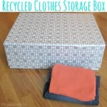 DIY Clothes Storage Box