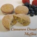 Cinnamon Donut Muffins