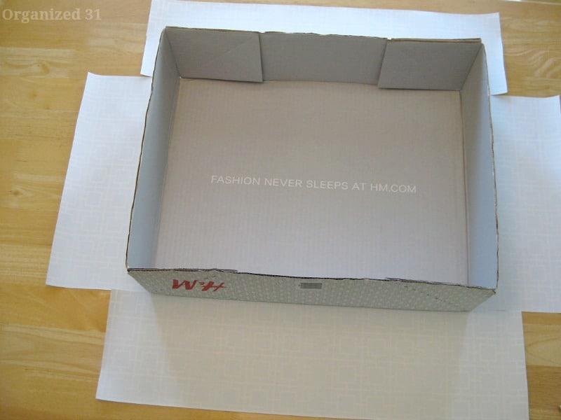 & DIY Clothes Storage Box - Organized 31