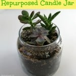 Repurposed Candle Jar